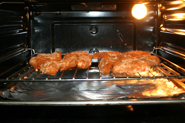 11 - Bake chicken wings / Chicken Wings im Ofen backen