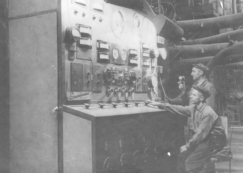 8 Щит управления котельной установки котла № 1–2. 1936 год.