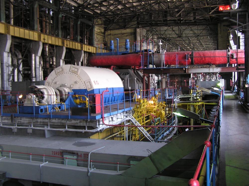 2 Турбинный цех Артемовской ТЭЦ