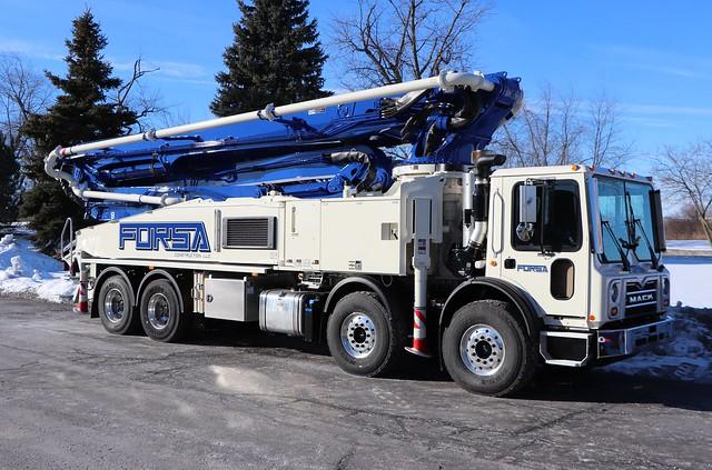 Forsa Construction, LLC Truck