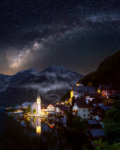 Hallstatt at Night | by One_Penny