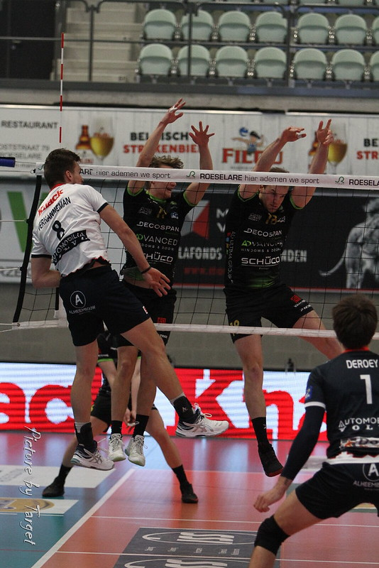 Knack Volley - Decospan Menen (3-0)