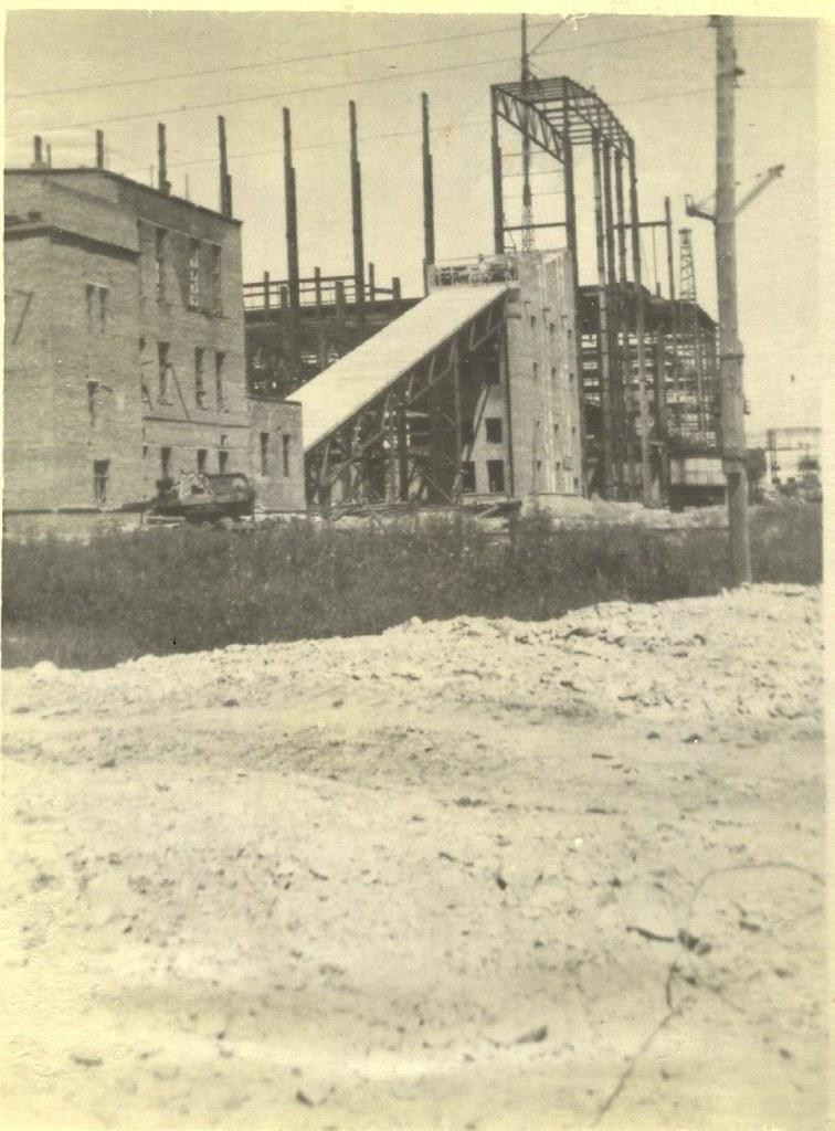 4 Строительство главного здания Сучанской (Партизанской) ГРЭС (август 1953 г)