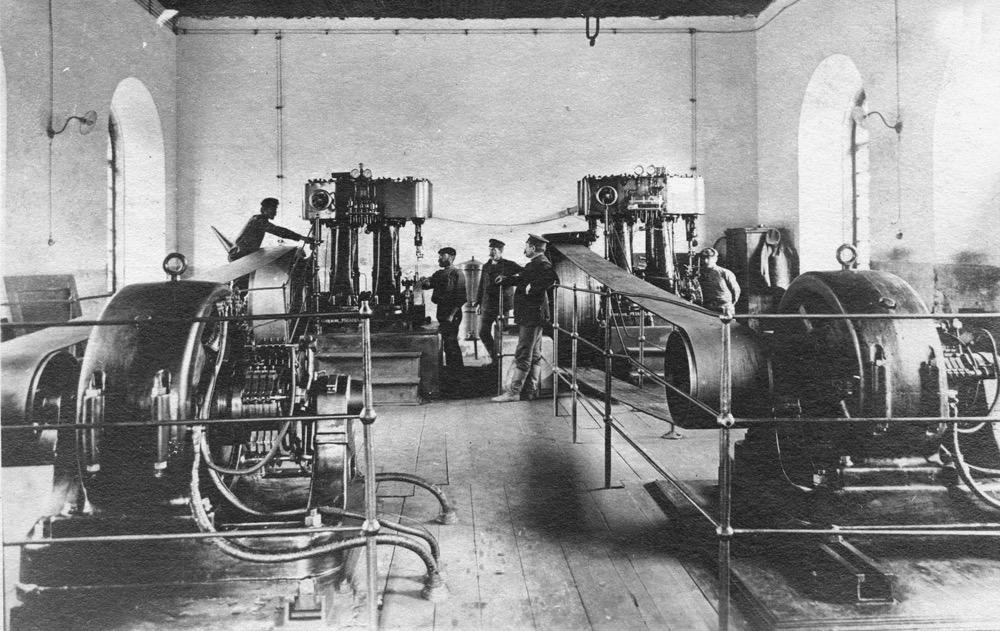 3 Внутренний вид  электростанции на шахте № 2 1921 г (г. Сучан (Партизанск)