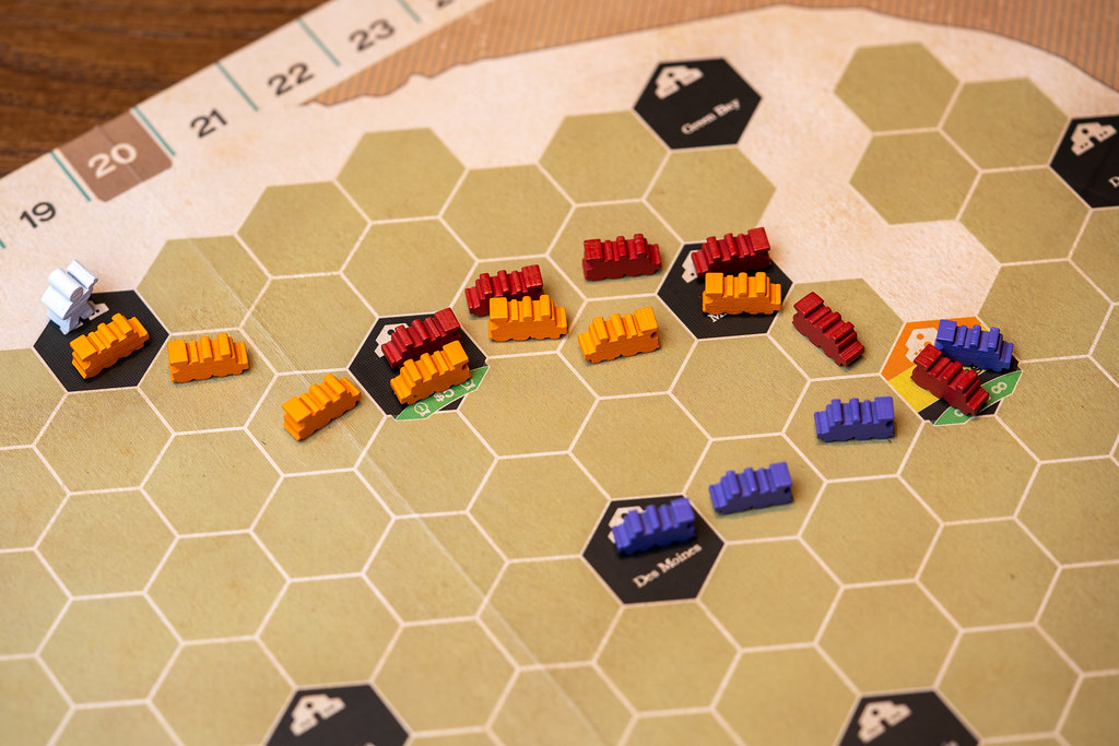 Iron rails ride rails irish gauge juego boardgame