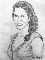 Evangeline Lilly sketch