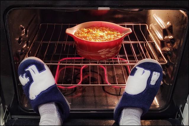 Keeping Warm in My Kitchen