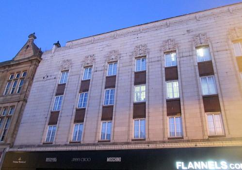Detail Art Deco Ex-Woolworths, Sunderland