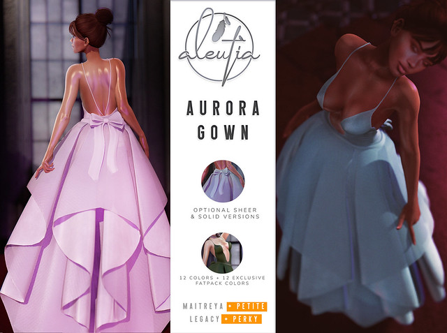 [Aleutia] Aurora Gown Coming Soon to Uber!