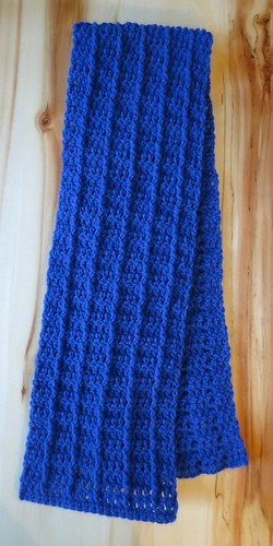 Basic Cabled Scarf