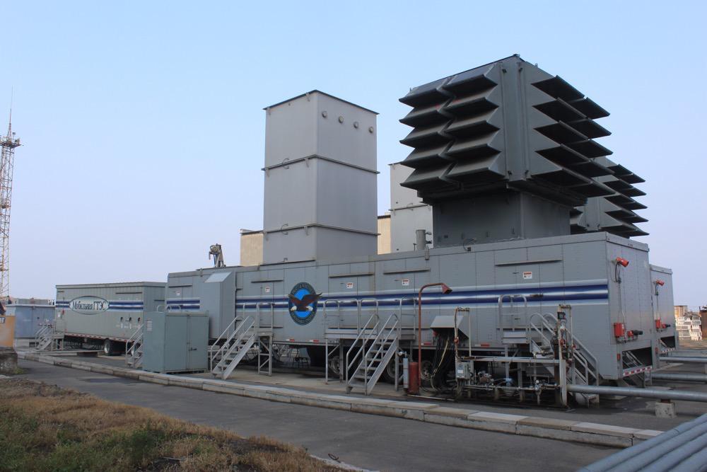 2  Мобильные газотурбинные электрические станции Mobile Pac на территории Владивостокской ТЭЦ-1