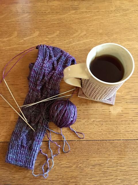 24/365: Tea and Knitting