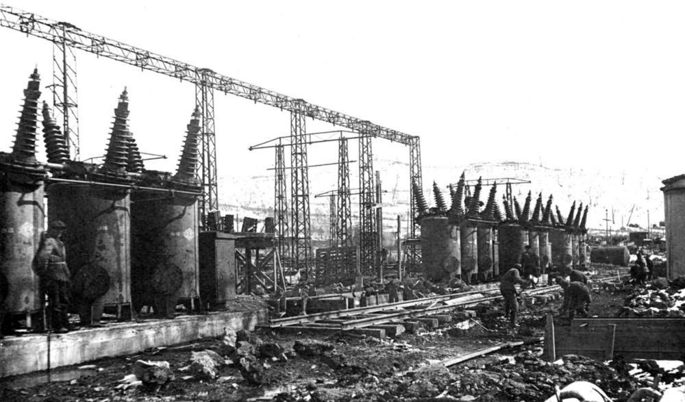 3 Строительство подстанции электрического цеха Артемовской ГРЭС (1934)