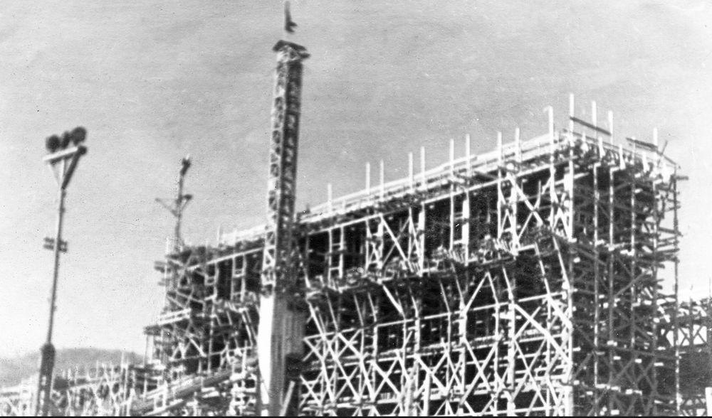 1 Строительство главного корпуса Артемовской ГРЭС (1935 г)