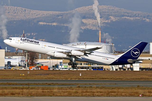 Lufthansa Airbus A340-313X D-AIGX
