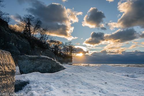 buffalo hamburgtowmparkbeach newyork beach landscape sunset winter hamburg unitedstates nikon d7200 tokina1116mmf28dxii