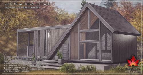 Trompe Loeil - Reidun Modern Cottage for Uber January | by TrompeLoeilSL