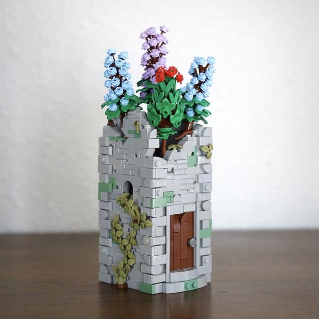 Castle Tower Vase