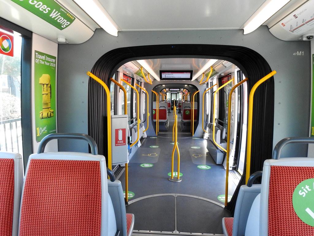 Interior LRV 47, Kingsford, Sydney, NSW.