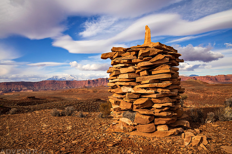 Chinese Trail Cairn