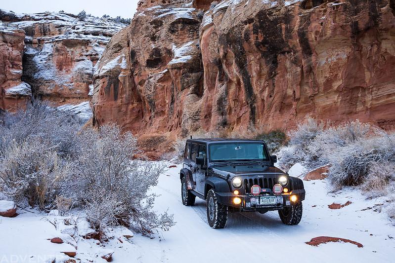 Cove Canyon Snow