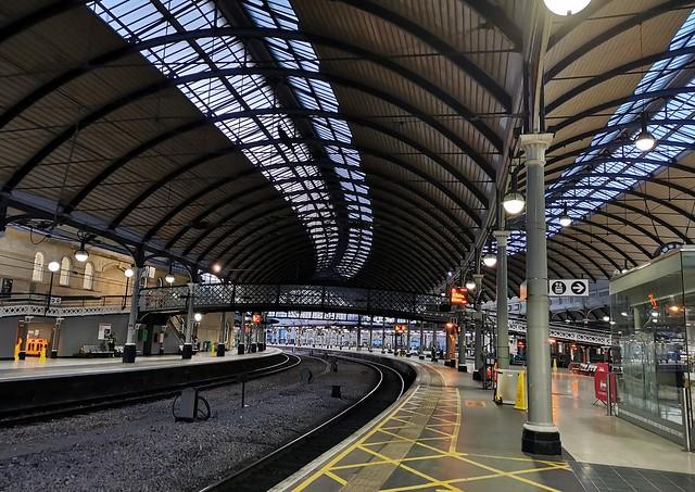 Newcastle Central - Friday Afternoon Stillness