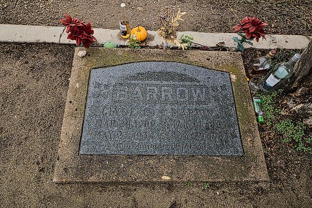 Clyde Barrow  Grave