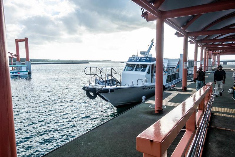 石垣港から西表島へ