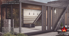 Trompe Loeil - Reidun Modern Cottage for Uber January
