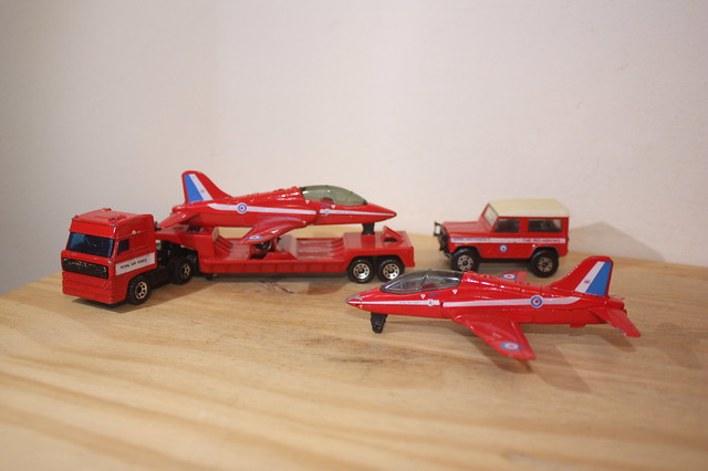 RAF Red Arrows Toys, UK.