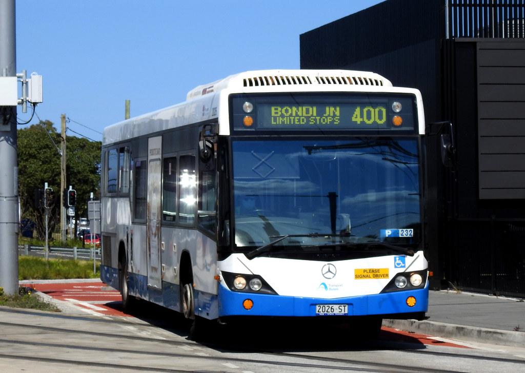 Bus 2026, Kingsford, NSW.