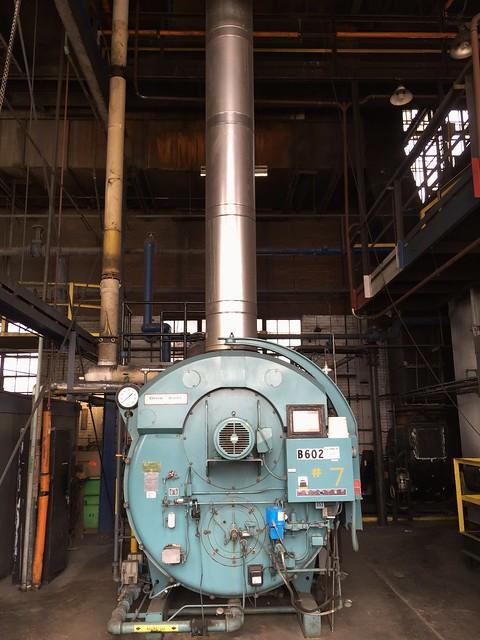gas fired Cleaver Brooks boiler #7