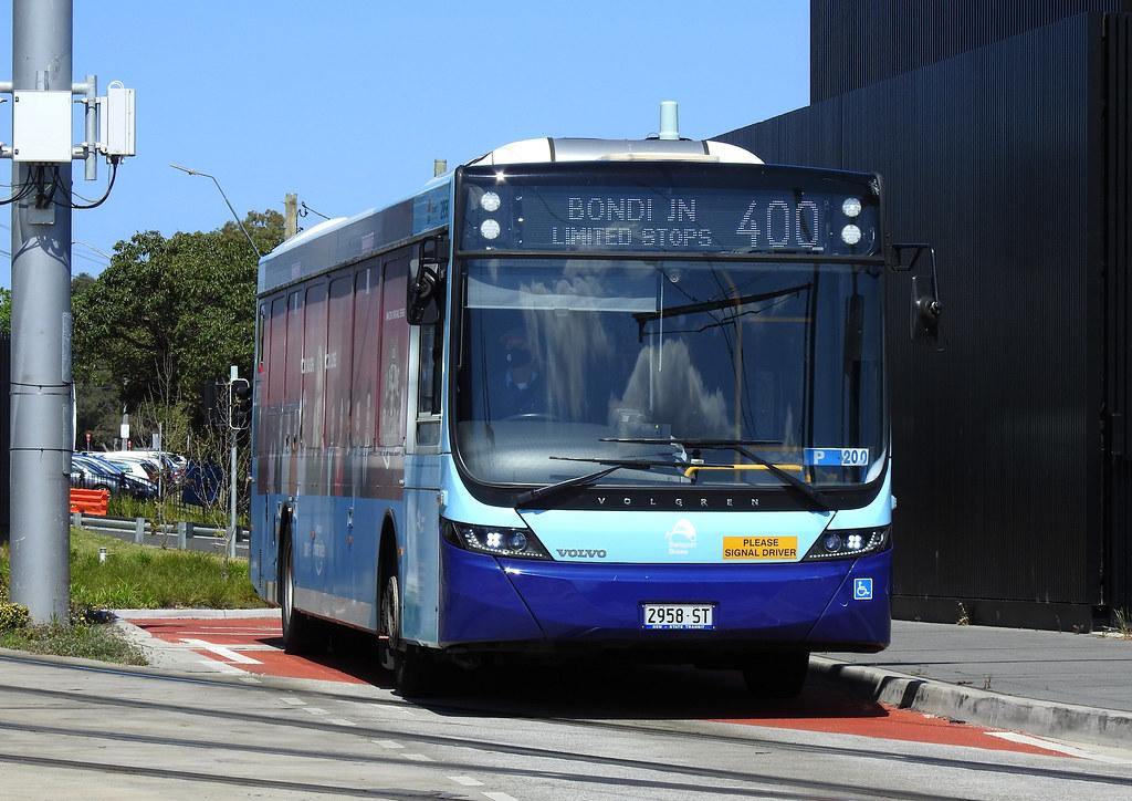 Bus 2958, Kingsford, NSW.