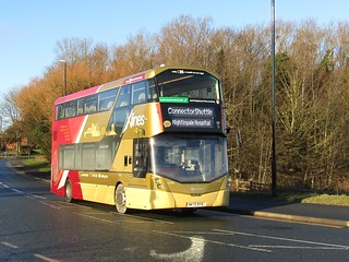 Go North East 6365 / NK70 BYB.