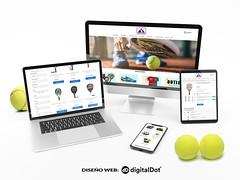 Diseño Tienda online Olimpo del Pádel