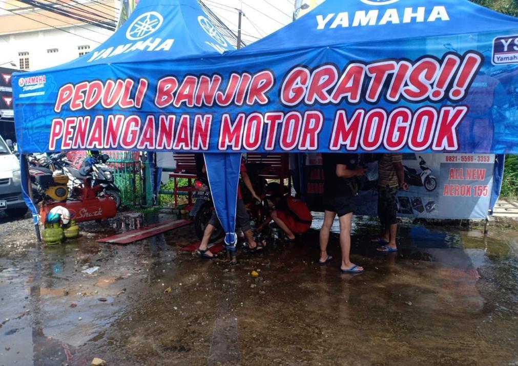 Yamaha Peduli Banjir Kalsel