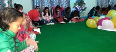 Morning Devotion in Orphanage