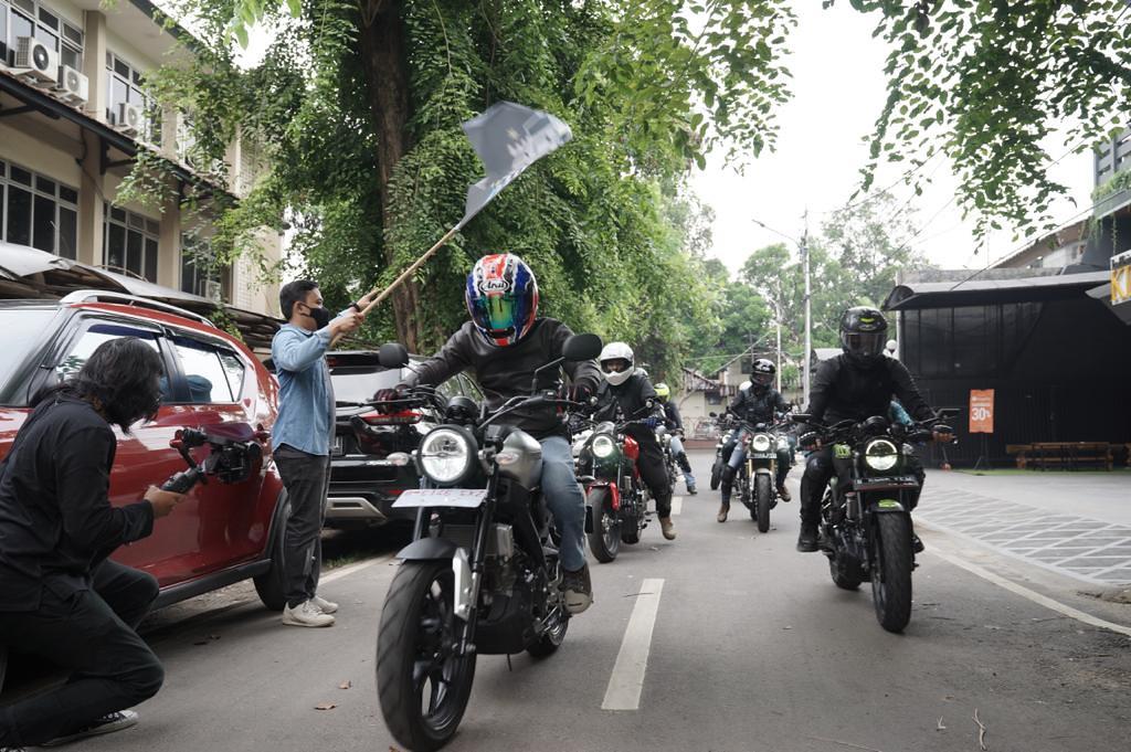 Mini-touring terbatas event XSR 155 Motoride