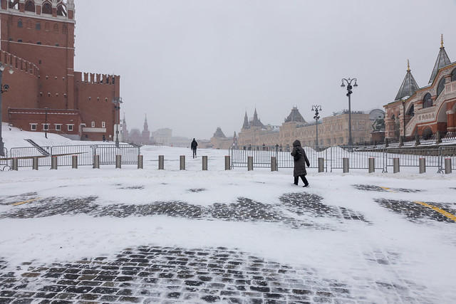Entering Red Square. Moscow, Russia. Dec.2020 (0U4A4119)