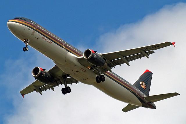 JY-AYK   Airbus A321-231 [3522] (Royal Jordanian Airlines) Home~G 13/06/2013