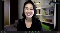 Angie Lau Moderating Virtual Event