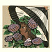Japanese Flower and Bird Art posted a photo:Japanese art print by Fumio Fujita (1933-)