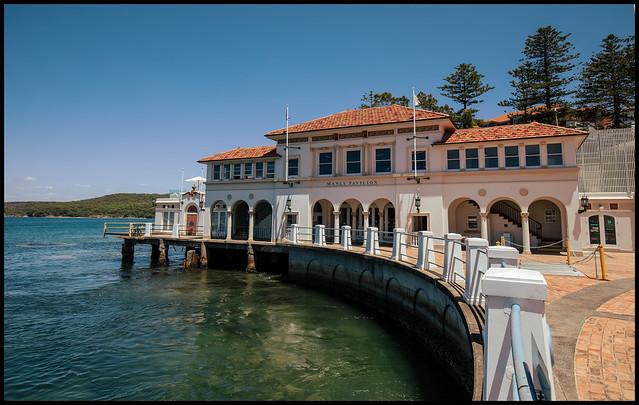 Pavilion on the harbour