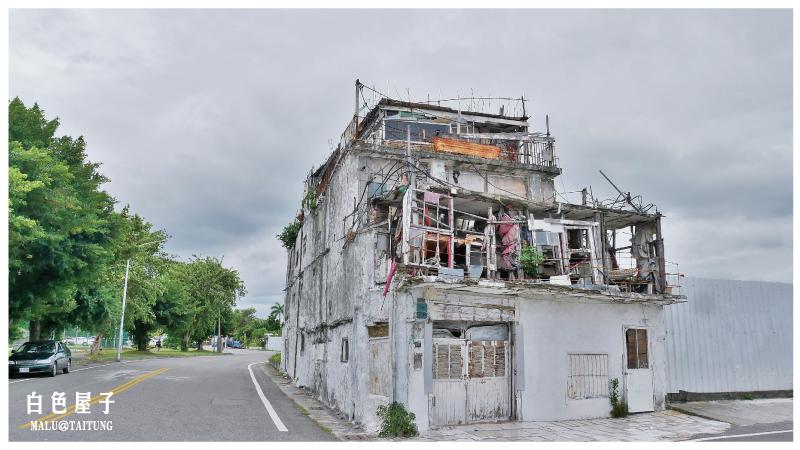 台東海線白色屋子-2