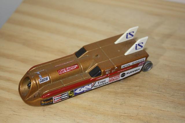 Land Speed Record Holder Toy, Thrust 2. UK.