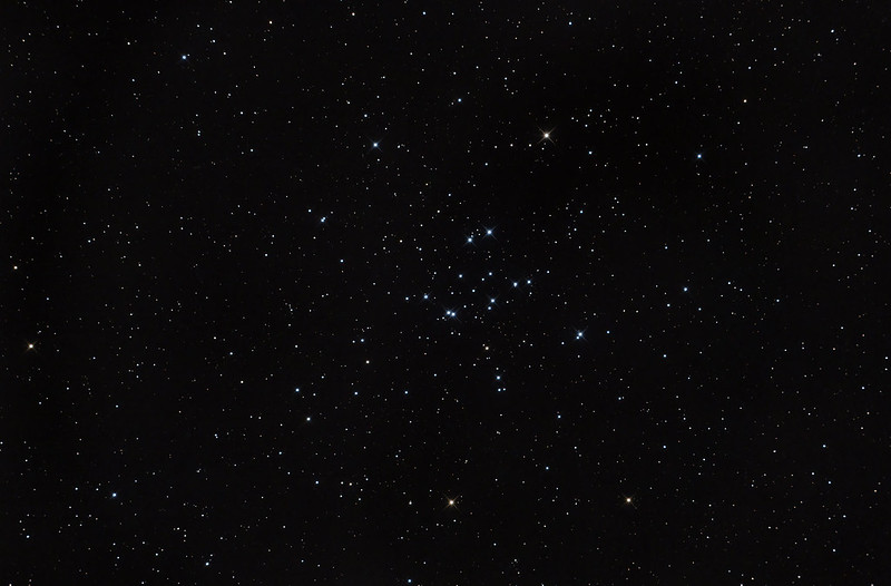 M34 in strong moonlight