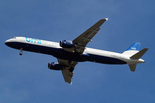 G-MEDJ   Airbus A321-231 [2190] (bmi British Midland) Home~G 24/07/2010