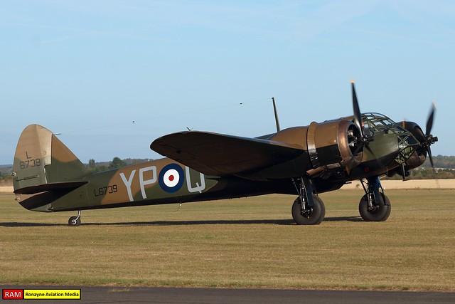 G-BPIV | Bristol Blenheim Mk.I | Aircraft Restoration Company