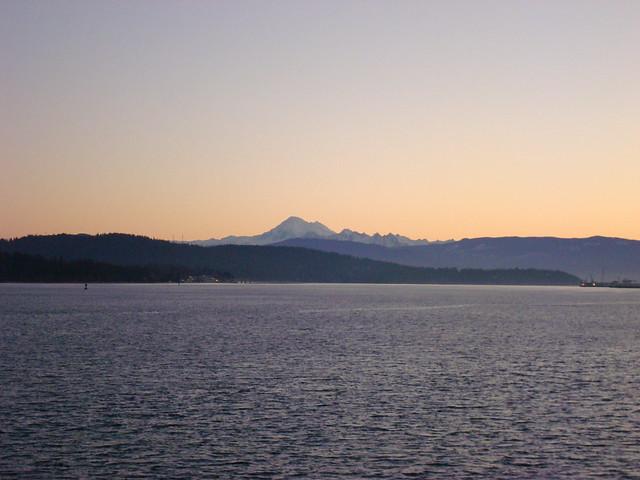Mountain over Rosario Strait