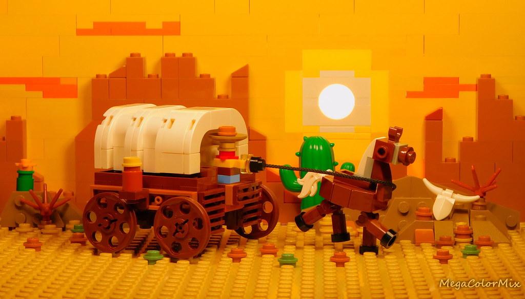 Wild West in sunny bricks!